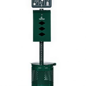 Keep spaces clean and clear with our Monarch Pet Waste Station