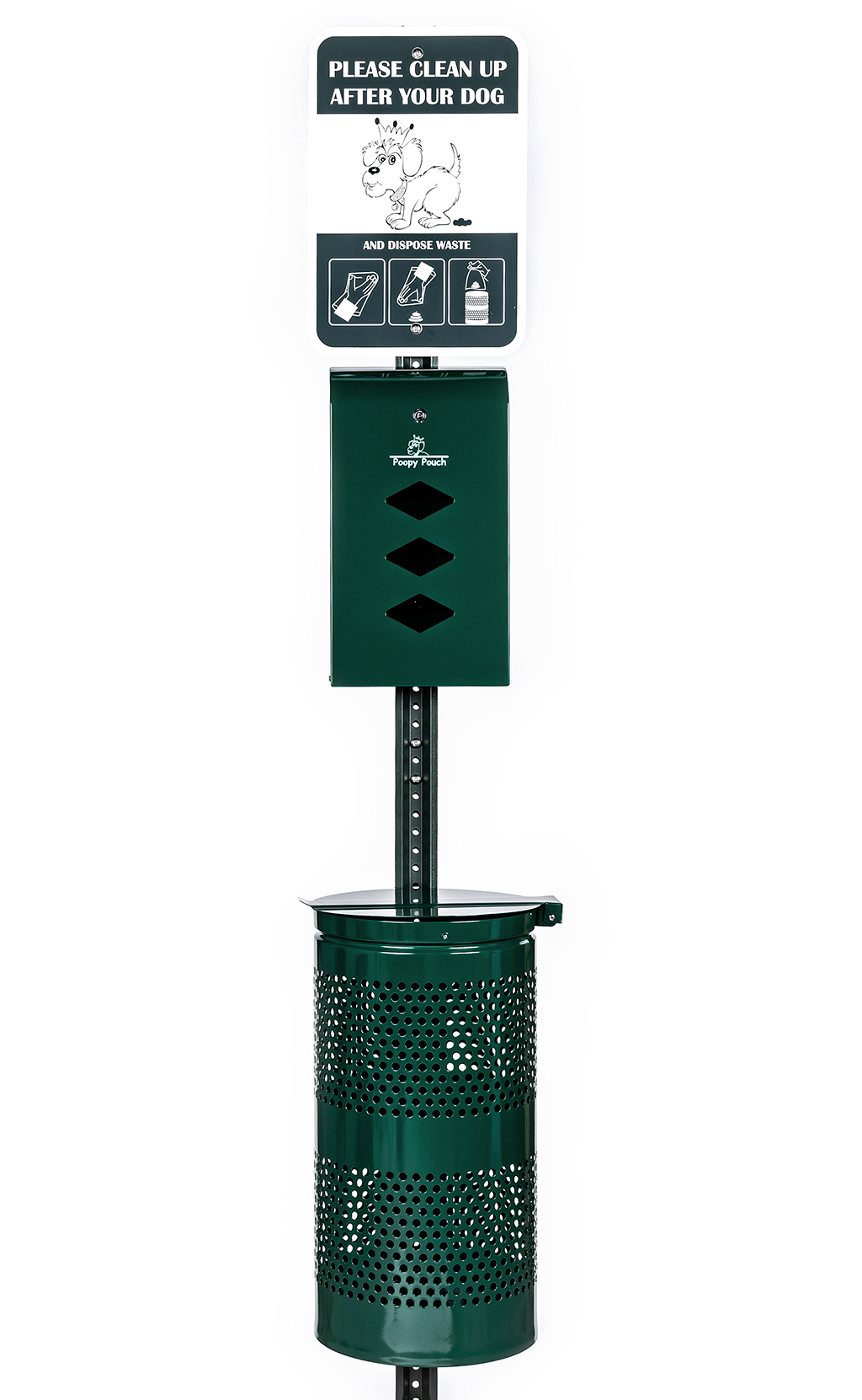 3e546500d783 Monarch Pet Waste Station - Keep Your Space Clean | Crown Products