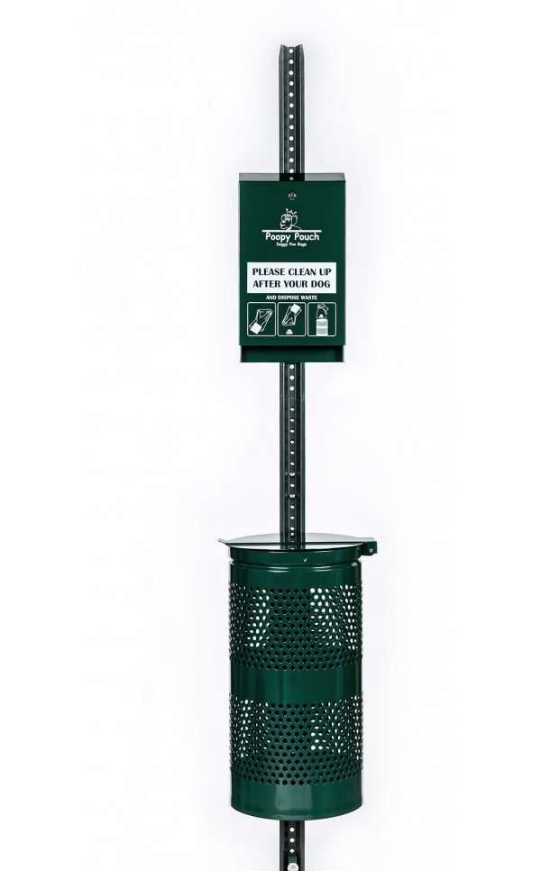 Keep public spaces clear with our Regal Pet Waste Station