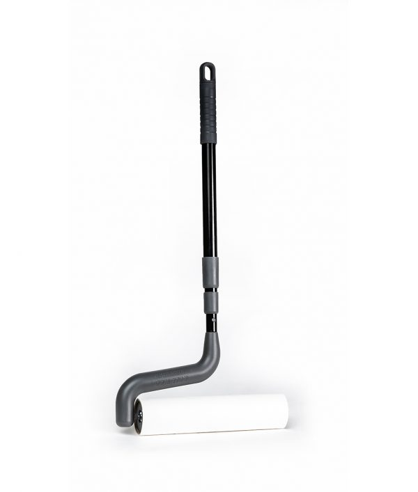 Clean hard-to-reach areas easily with a cleaning roller!