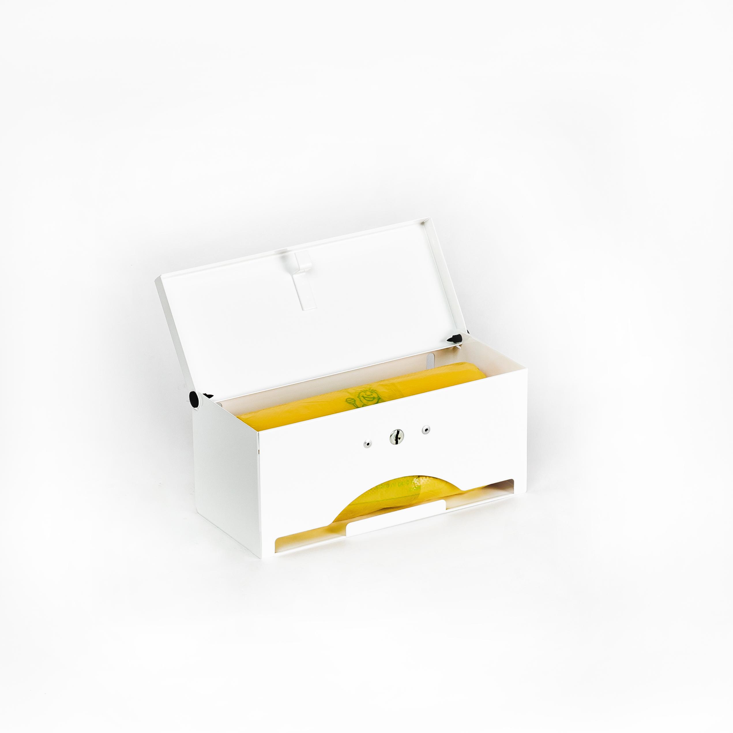 Poopy Doo Diaper Disposal Bag Dispenser Capacity of 100 Bag Count